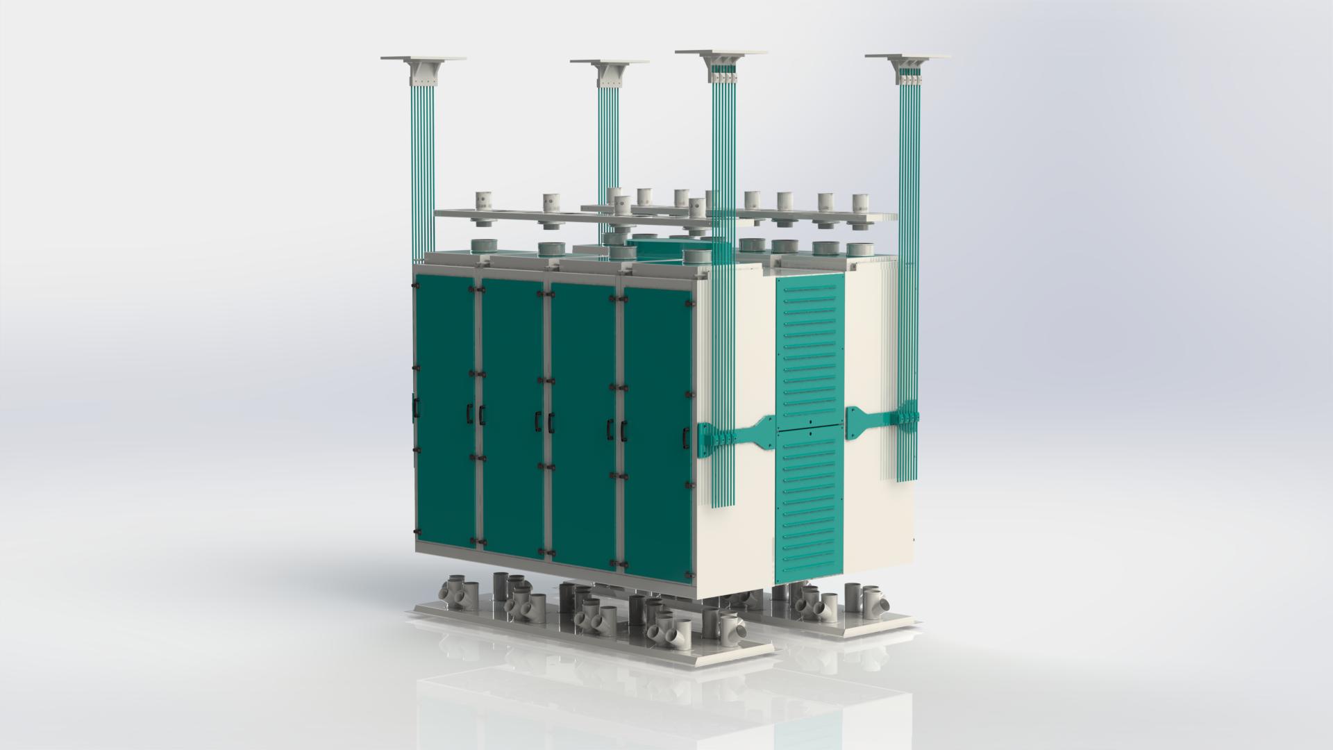 Quadro Plansifter : Palmel Değirmen Flour Milling Machinery
